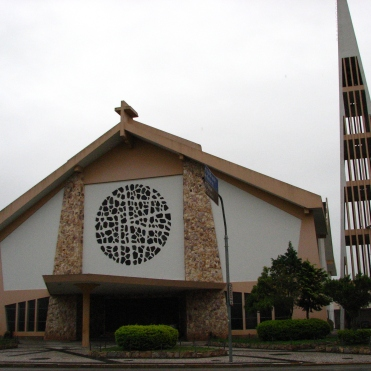Igreja Matriz de Palhoça, em honra do Senhor Bom Jesus de Nazaré