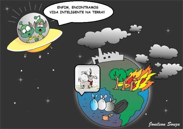 Vida inteligente na Terra