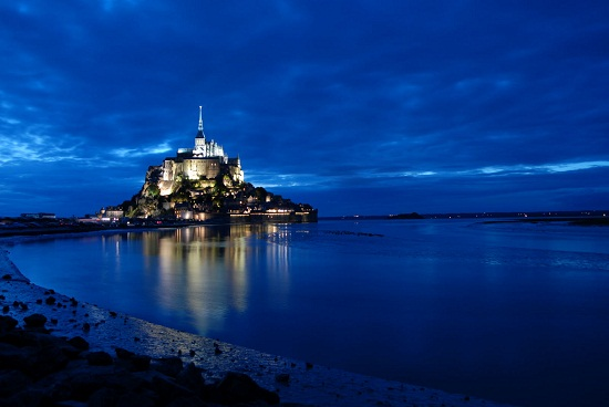 A fascinante ilha de Mont-Saint-Michel