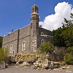 Et-Tabgha- a Igreja do séc. V que celebra a Multiplicação dos Pães e Peixes, Galileia