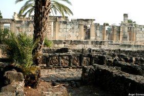 Ruínas da casa do apóstolo São Pedro, Cafarnaum, Galileia