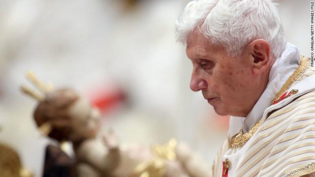 Sua Santidade, o Papa emérito Bento XVI.
