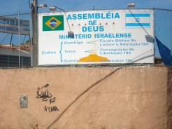 Igreja que funciona como embaixada dos sionistas de Israel