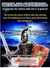 Panfleto da Assembleia de Deus CENTRAL (andam vendo muitos filmes)
