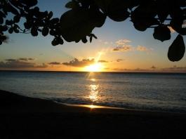 Fim de tarde em Le Carbet, Martinica