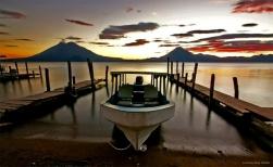 Lago Panajachel, Guatemala
