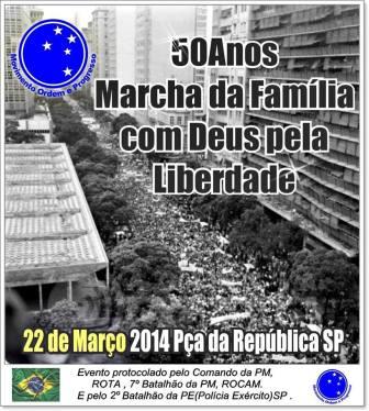 Marcha da Família com Deus e pela Liberdade - São Paulo, 22/03/2014