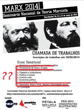Marx, Engels e os gays