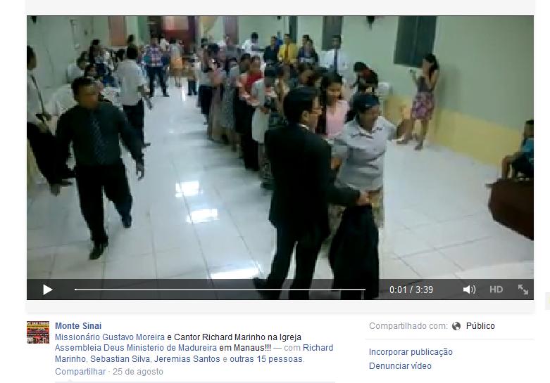 Print da Tela do Vídeo da ADMM