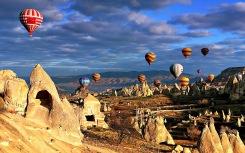 Balões na Capadócia