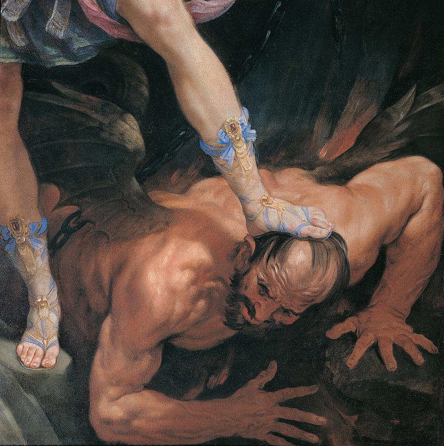 Mikhael Stepping On the Devils Head