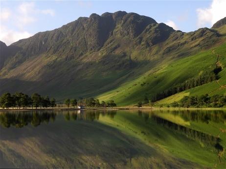 Paisagem isolada nas Highlands, Escócia