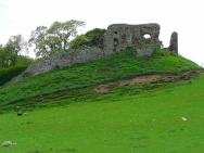 Velho castelo de Skelbo Castle, Escócia