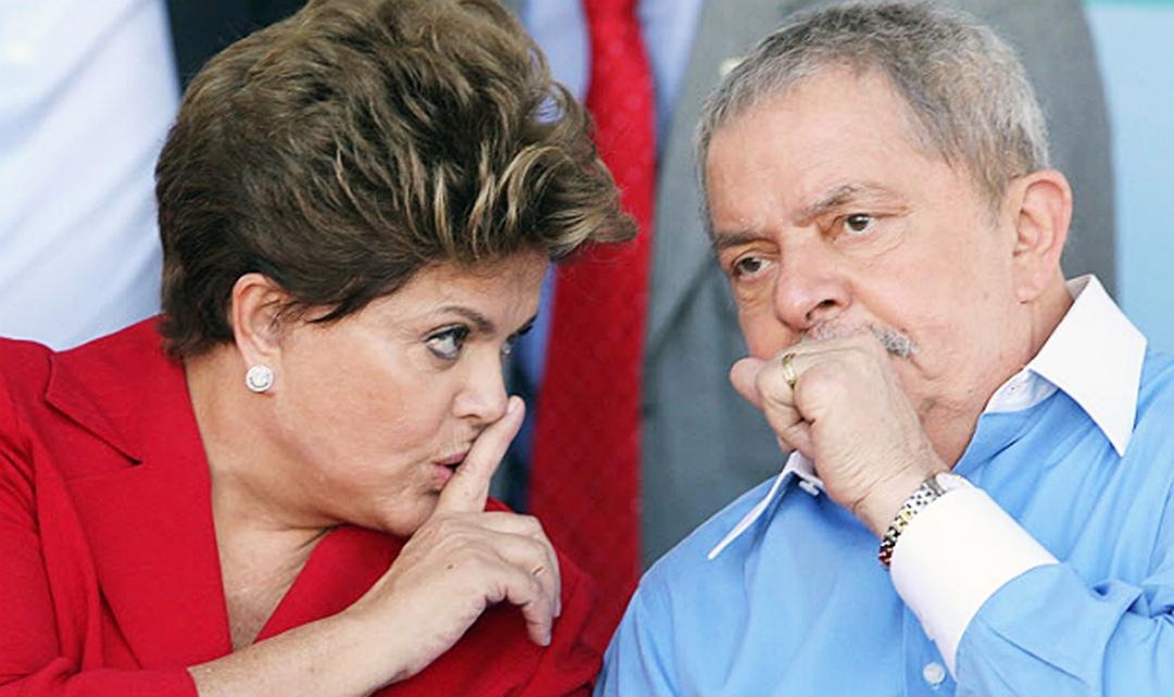 Dilma e Lula - Quadrilheiros de Plantão