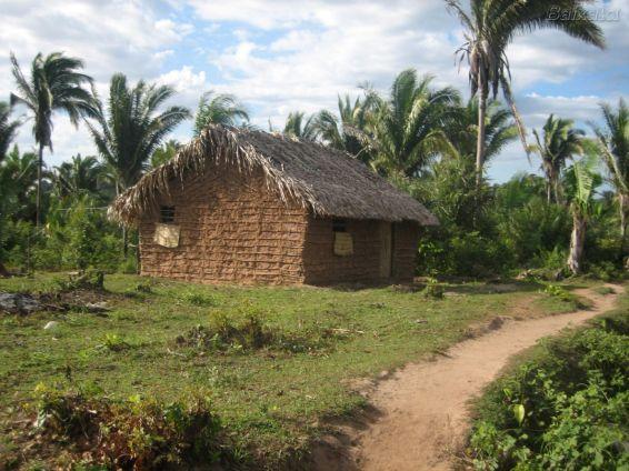 Típica habitação do interior do Brasil