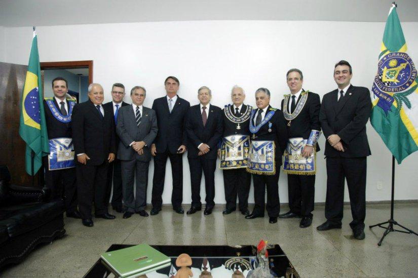 Bolsonaro e Marco Feliciano sãomaçons?