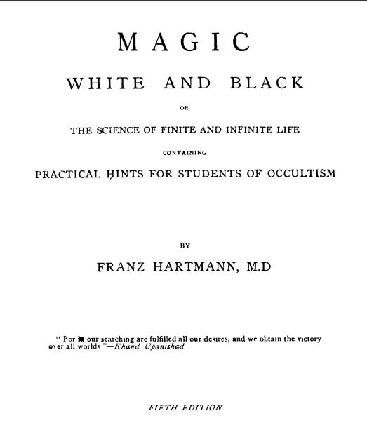 Magic White and Black (FranzHartmann)
