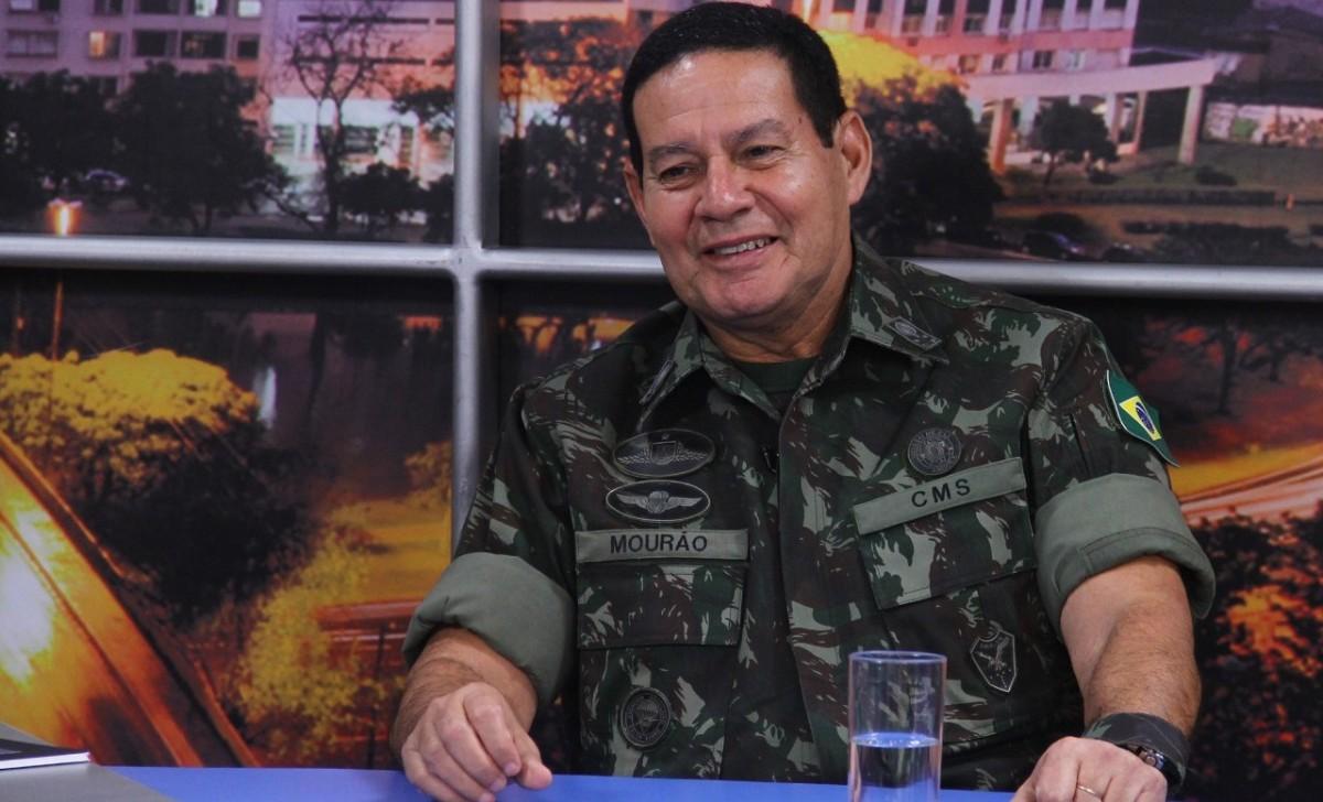 General Mourão na Maçonaria